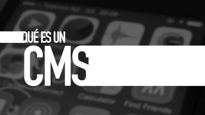 Qué es un CMS. Diccionario TIC. Por e-Lexia.com