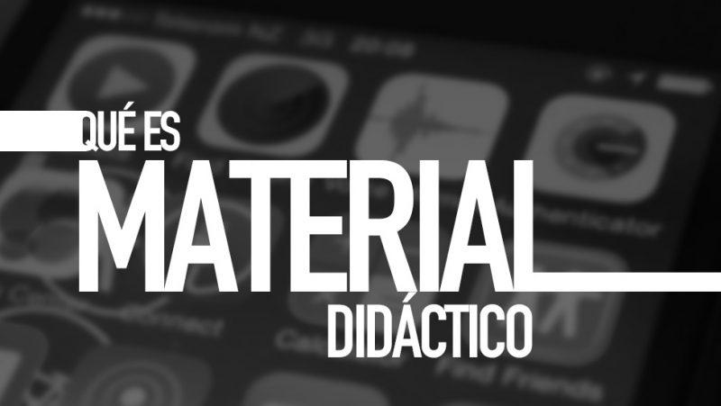 Qué es material didáctico. Diccionario TIC. Por e-Lexia.com